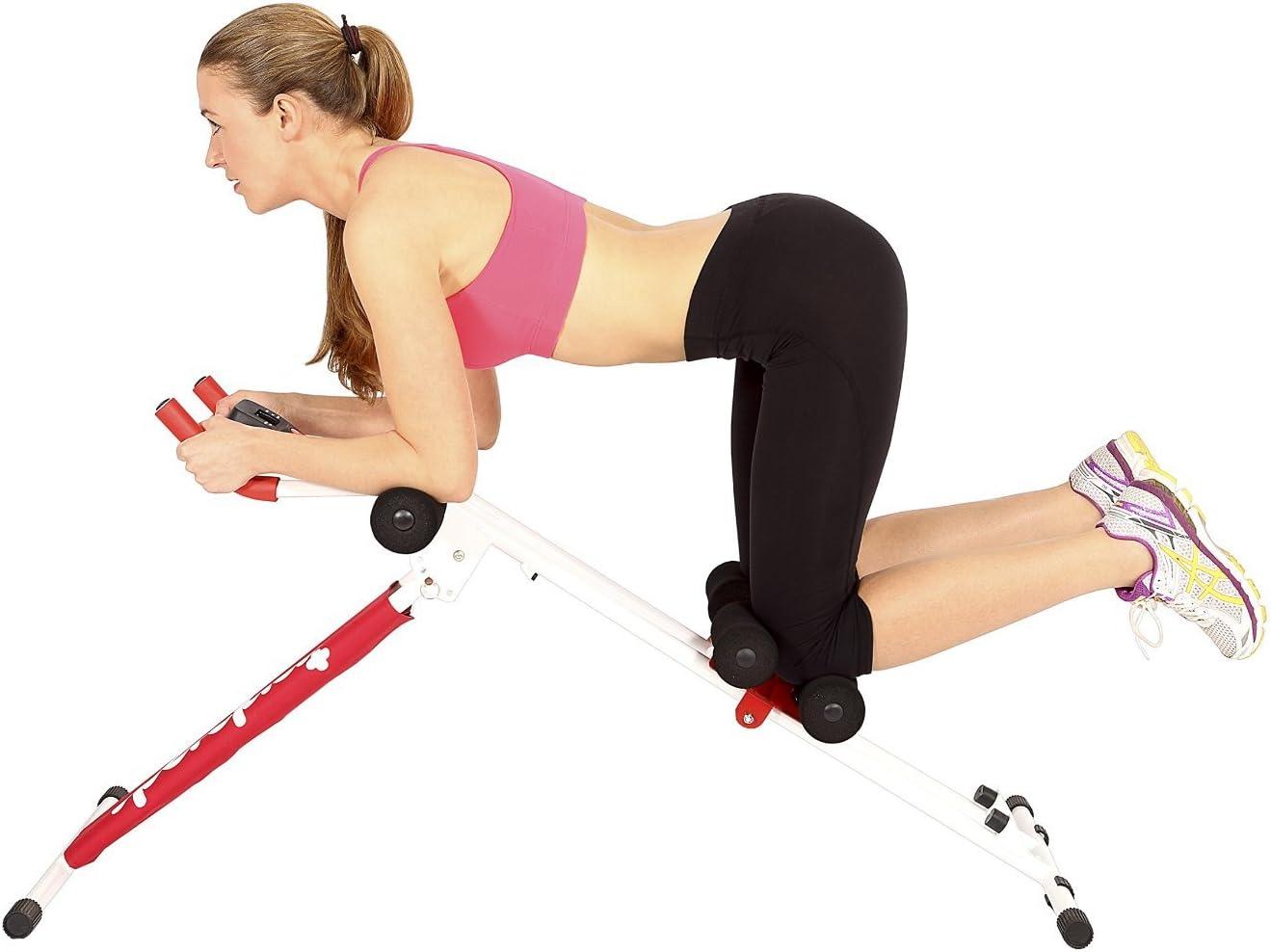 SportPlus Bauchtrainer /• Bauchmuskeltrainer klappbar f/ür zuhause /• Trainingscomputer /• verschiedene Schwierigkeitsgrade /• gezieltes Bauchmuskeltraining /• Nutzergewicht bis 100kg /• Sicherheit gepr/üft