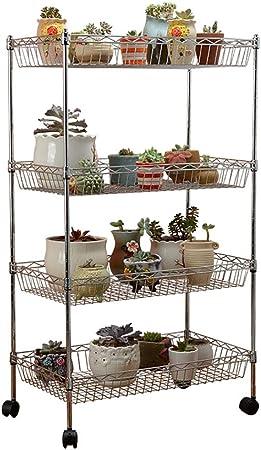 Chairs FL Estantes para Plantas/estanteria Jardin Soporte de Flores Flor de Metal Estante de múltiples Capas Planta Flor Soporte de exhibición Balcón al Aire Libre Interior estanterias de Jardin: Amazon.es: Hogar