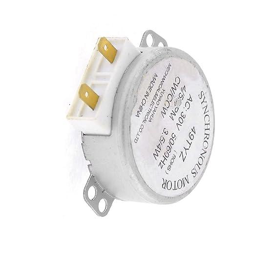 Aexit Placa giratoria del horno microondas Sincrónica CW ...