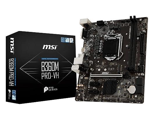 B360M PRO-VH LGA 1151 (Zócalo H4) Intel® B360 micro ATX: Amazon.es: Oficina y papelería