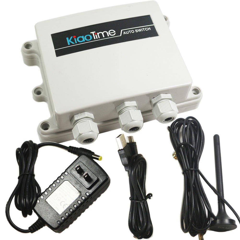 KT-G3-A USA 4G GSM AUTO Relay Switch 12V Remote Control Box Wireless Gate Opener 2CH Output HOG Trap System 30A Relay Contact(for AT&T and T-Mobile) by KiaoTime (Image #2)