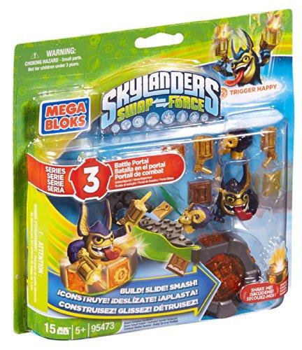 Mega Bloks Skylanders Legendary Trigger Happy Battle Portal -
