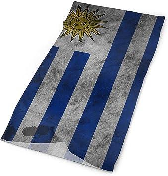 ulxjll Pañuelo Uruguay Bandera Retro Arte Bandanas Mascarilla Diadema Cuello Polaina Sombreros Bufanda Mágica: Amazon.es: Deportes y aire libre