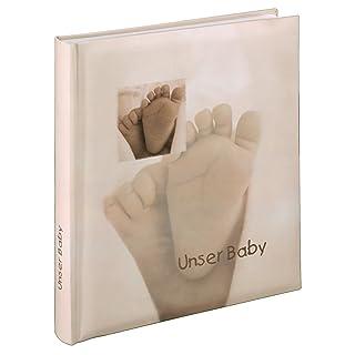 Hama 10 x 15 cm Baby Feel Bookbound Album for 60 Photos, Beige 00090111