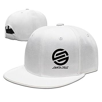 Hittings Santa Cruz Surf Skate Hip Hop Gorra de béisbol Tiene Cap One Size White: Amazon.es: Deportes y aire libre