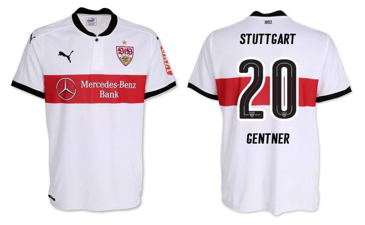 Trikot Kinder VfB Stuttgart 2017-2018 Home - Gentner 20