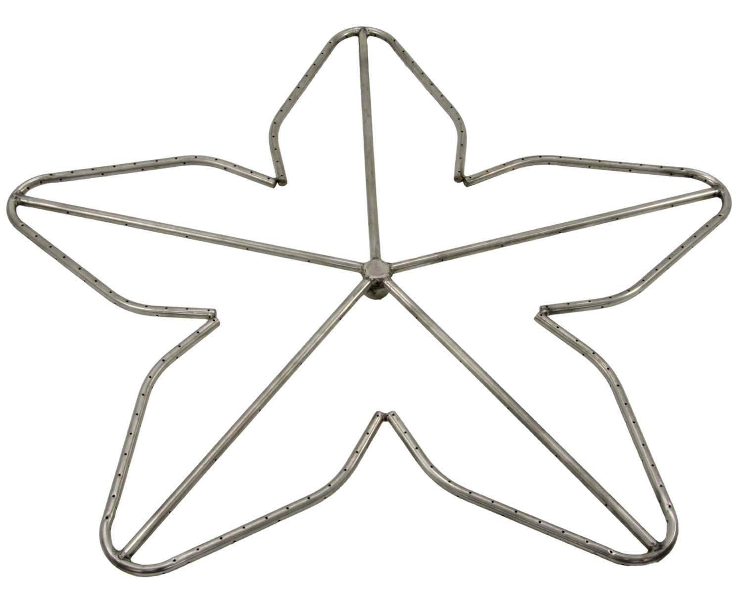 Hearth Products Controls (HPC) Penta Fire Pit Burner (PENTA36-NG), 36-Inch, Stainless Steel, Natural Gas