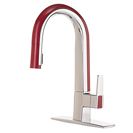 cleanflo 88018 51 matisse single handle kitchen faucet 2 modes pull rh amazon ca kitchen faucets red deer kitchen faucets red deer