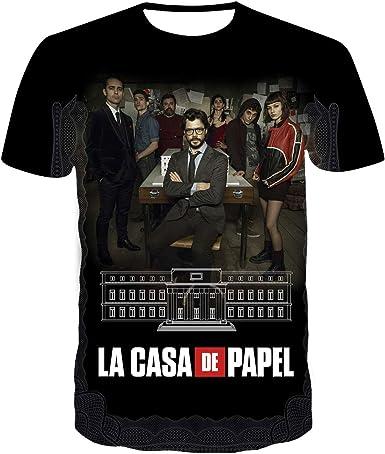 Money Heist La CASA De Papel Mask Short-Sleeve Unisex T-Shirt
