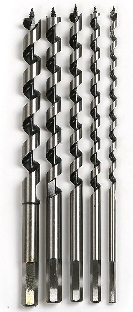14mm x 235mm Long Hardened Steel Auger Drill Bit–Hex Shank//Shaft Woodwork Timber