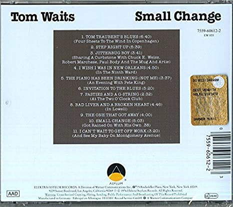 Tom waits small change amazon music stopboris Images