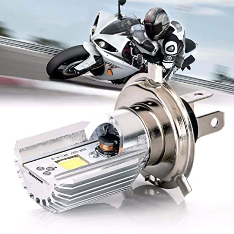 Bombilla LED moto 12 V HS1 H4 code-phare ciclomotor scooter luz bombilla LED HS1