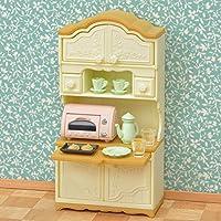 3 conjuntos de Sylvanian Families - Microondas armario, cocina ...