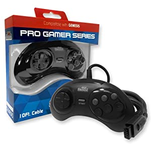 Old Skool Pro Gamer Series Controller for Sega Genesis