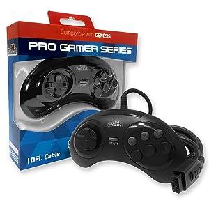 Old Skool Pro Gamer Series Controller for Sega Genesis