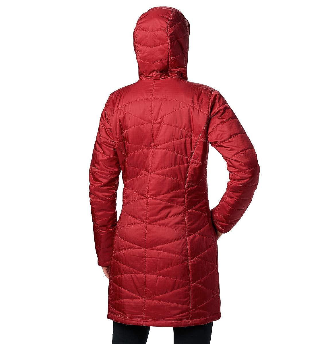 Columbia Womens Standard Mighty Lite Hooded Jacket Medium Beet