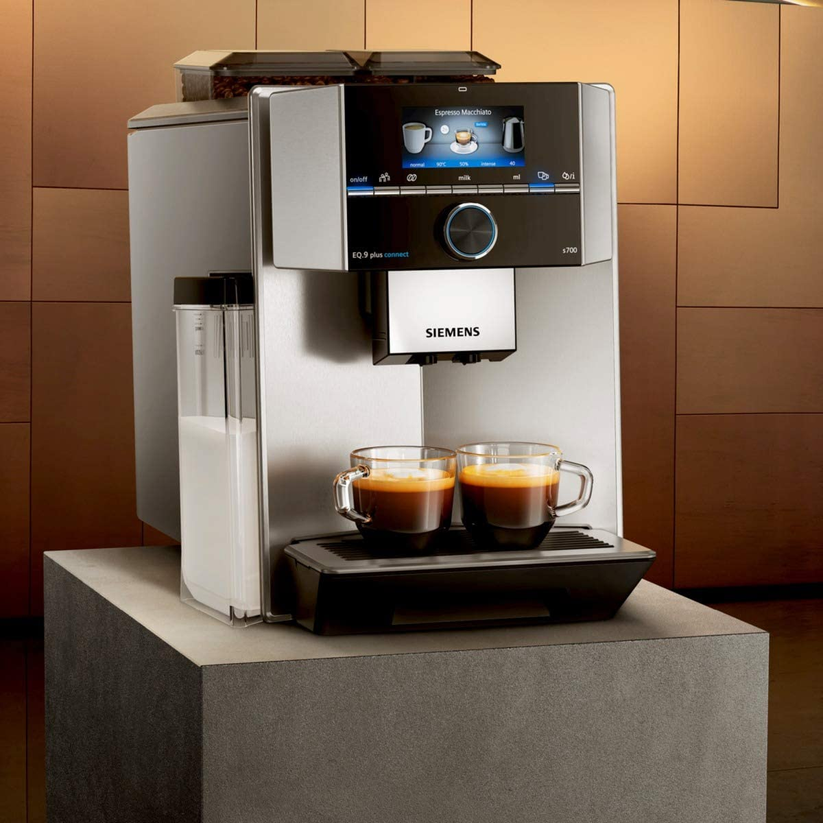 Siemens EQ.9 plus connect s500 Cafetera automática, 1500 W, 2.3 ...