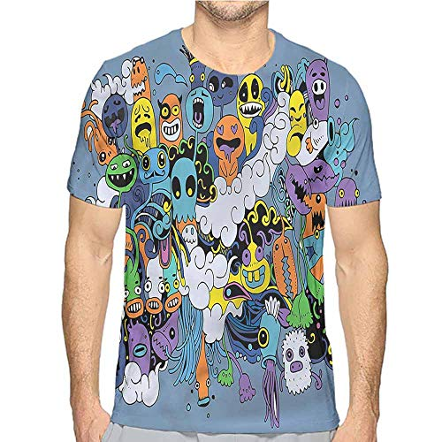 t Shirt Printer Indie,Funky Monsters Society Junior t Shirt M]()