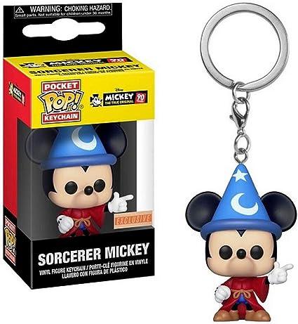 Funko POP! Keychain - Mickey The True Original 90 Year Anniversary - Sorcerer Mickey [Exclusive!]