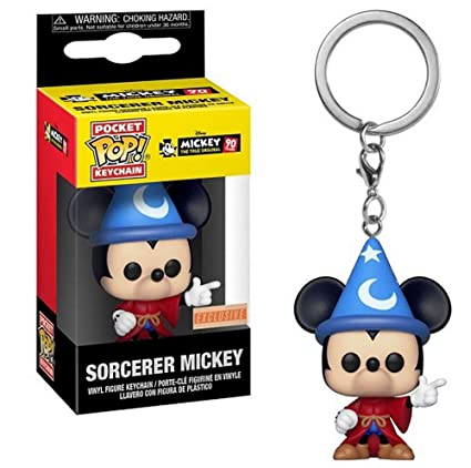 Pop! Keychain Disney (Mickey 90th) - Llavero Sorcerer Mickey ...