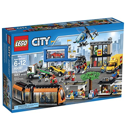 LEGO City 60097 Square Building