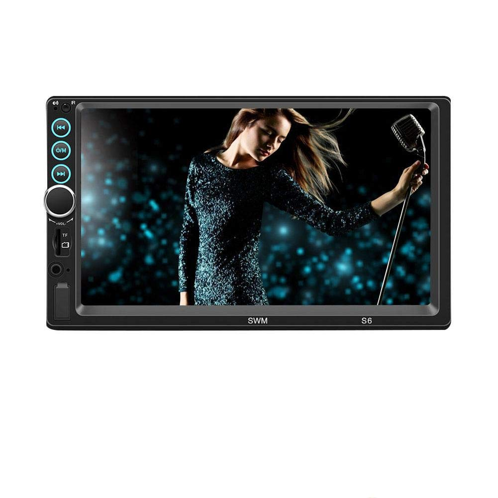 "7/"" HD 2DIN Car Stereo Radio MP5 Player Bluetooth USB Touch Screen W// Rear Camera"