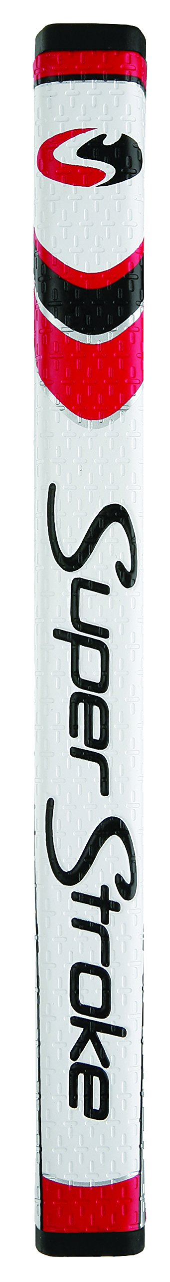 Superstroke Pistol GTR Tour Putter Grip, White/Red by SuperStroke