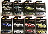 (US) Hot Wheels Camaro Fifty 1967-2017 Exclusive 8 Car Set