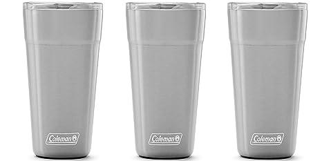 Amazon.com: Coleman Brew - Vaso de acero inoxidable aislado ...