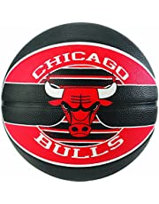 Spalding NBA Team Chicago Bulls Ball Balón de Baloncesto, Unisex Adulto