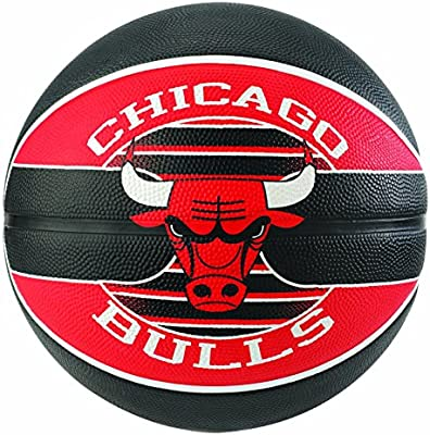 Spalding NBA Team Chicago Bulls 83-503Z Balón de Baloncesto ...