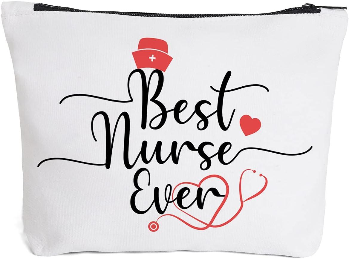 Nurse Zipper Pouch  First Responder Gift  Healthcare Professional
