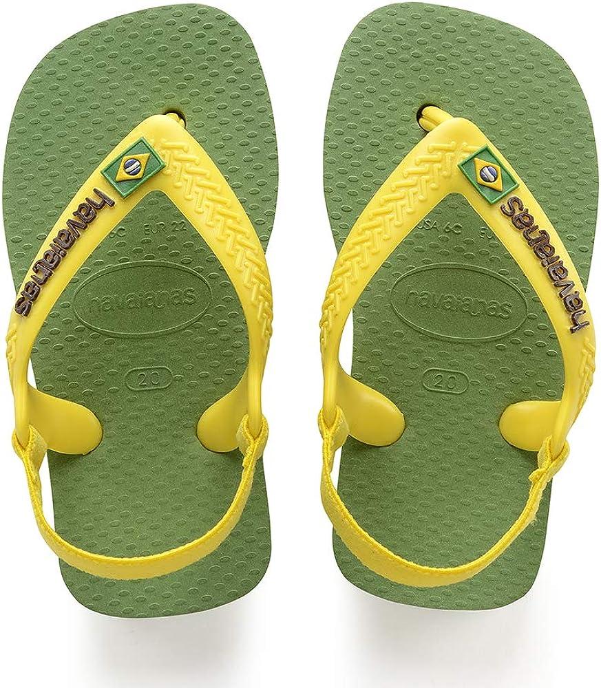 Tongs Mixte b/éb/é Havaianas Brasil Logo II