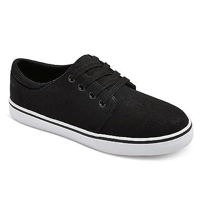 Cat & Jack Boys' Finn Casual Sneakers Black