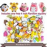 BeYumi Random 16 PCS Squishy Toys(Including 15 PCS Mini + 1...