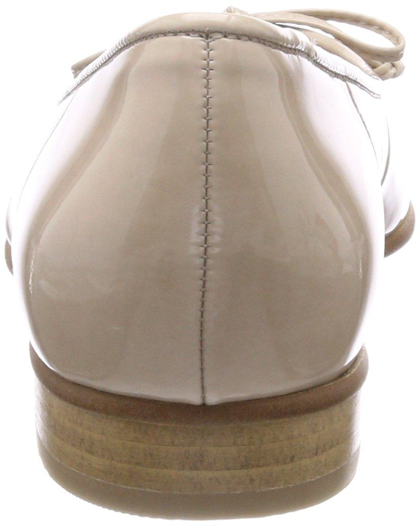 Gabor Damen Weiß Basic Geschlossene Ballerinas, Beige Weiß Damen (Weiss/Sand) c33ae0