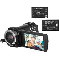 Andoer Portátil Multi-funcional 1080P FHD Filmadora Digital Video Recorder DV 24MP Suporte IR Visão Noturna Conexão Wi…