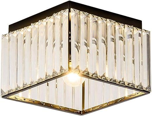 Iluminación Luz De Techo Lámpara Colgante Lámpara Escalera Caja Pasillo 12 Pulgadas Luces De Techo Balcón Pequeño Lugar Pintado En Negro Accesorios De Iluminación Para El Techo Del Dormitorio: Amazon.es: Iluminación