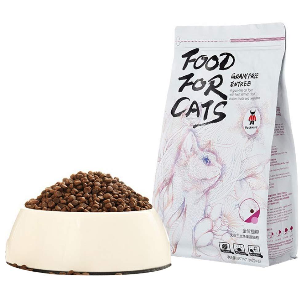 HEEPDD Dry Cat Food, Salmon Chicken Recipe No Corn Healthy Formula by HEEPDD