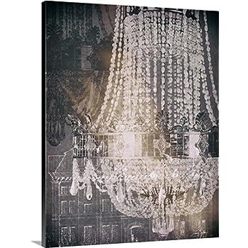 tina carlson premium thickwrap canvas wall art print entitled chandelier art i