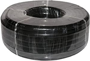 Alpine 100' Black Vinyl Tubing for Ponds 1/4 inch ID x 3/8 inch OD, 1/16 inch wall