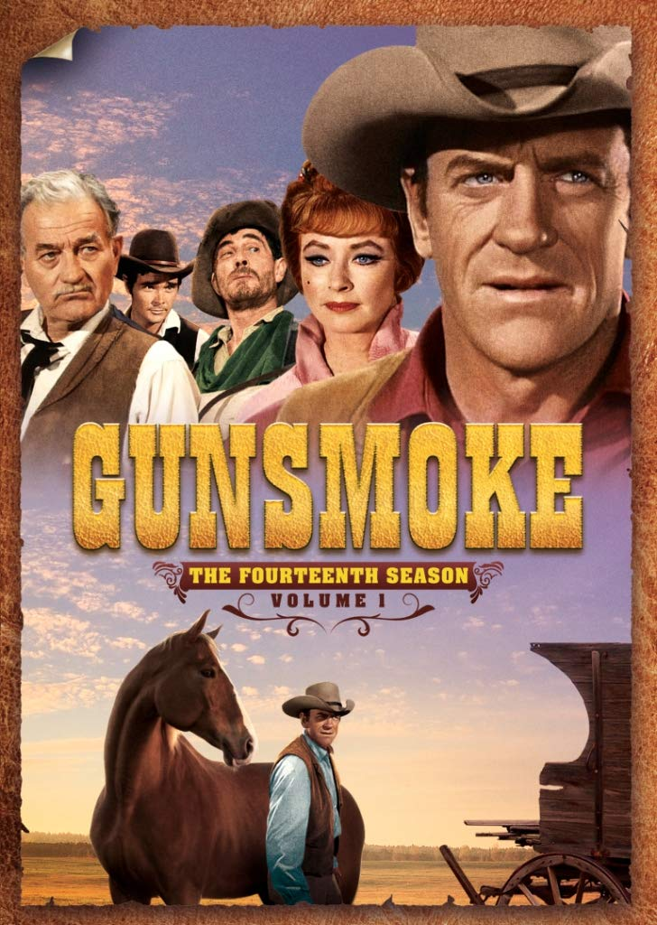 DVD : Gunsmoke: The Fourteenth Season Volume 1 (Full Frame, Boxed Set, Amaray Case, Subtitled, Mono Sound)