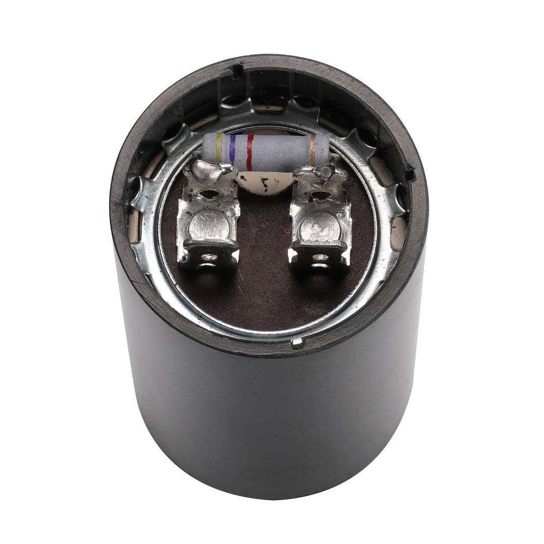 Motor Start Capacitor 161-193 MFD uF 125VAC US Style Round for Single Phase Motor