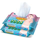 Diapex Soft Baby Wipes, (Pack of 2)