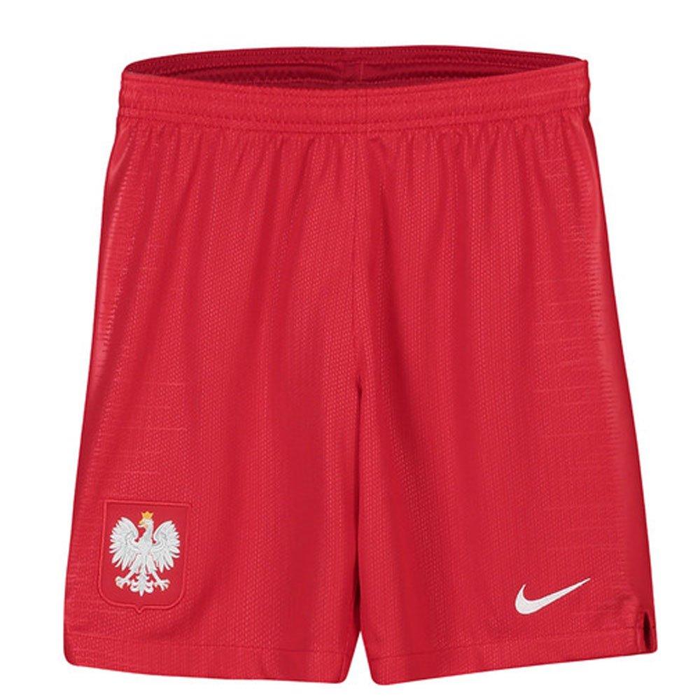 Nike 2018-2019 Poland Away Shorts (Red) - Kids