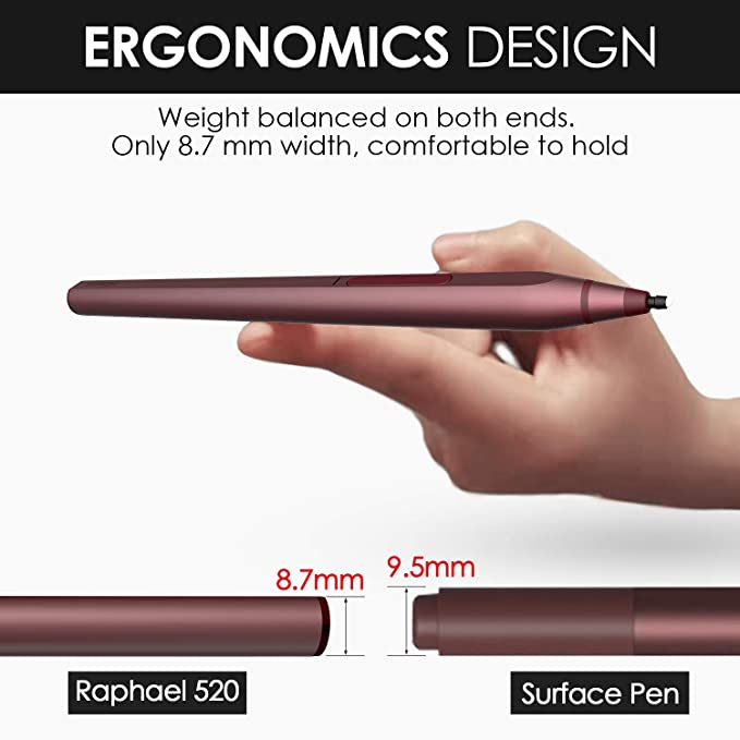 Renaisser Pen For Surface Sticks Magnetic 4096 Elektronik