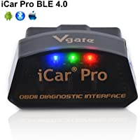 Vgate iCar Pro Bluetooth 4.0 (BLE) OBD2 OBDII foutcode-lezer auto check motorlicht met ELM327 adapter