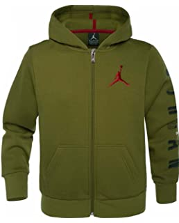 8d7eb2eba111 Jordan Nike AIr Graphic Hoodie Unisex Boys Girls Black Red White ...