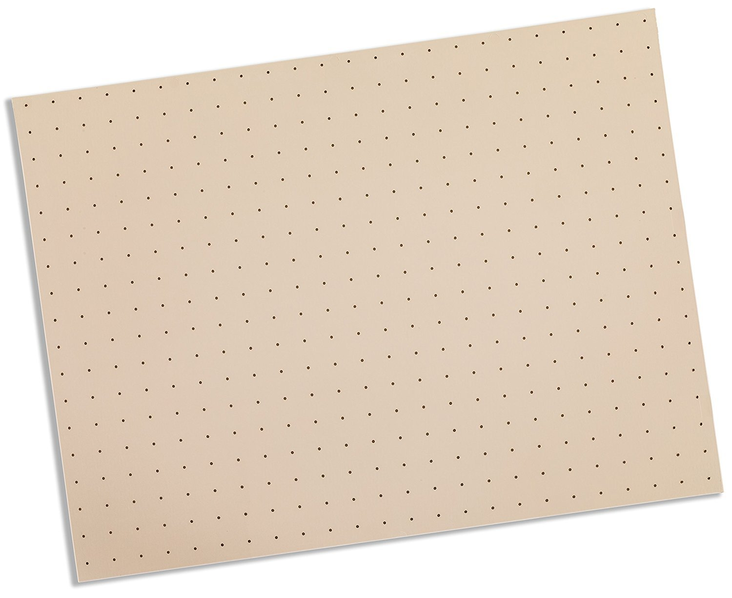 Rolyan Splinting Material Sheet, Tailor Splint, Beige, 1/8'' x 6'' x 9'', 1% Perforated, Single Sheet
