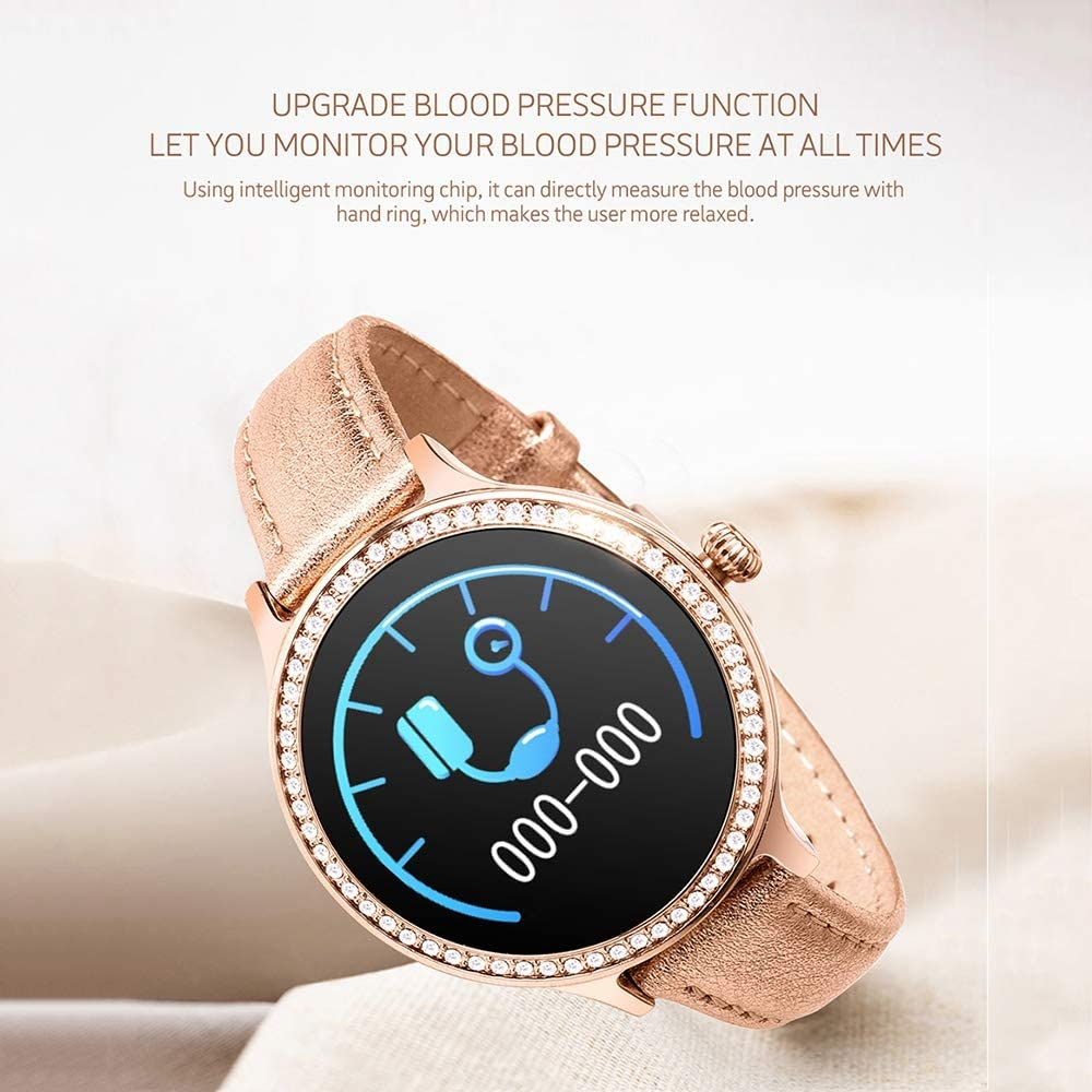 Schermo Touch Sport IP68 Smart Fitness Orologio da Polso Tracker Activity Heart Rate Monitor di Pressione Sanguigna di Sport di Bluetooth Smart Guarda black